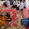 【カンボジア女子一人旅】伝統的な幸せになる厄払い♪