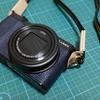 Panasonic製デジタルカメラ DMC-TX1に、自分好みのストラップ「リング型」を取り付ける。