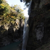 手取峡谷の紅葉「綿ヶ滝」