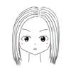 髪の毛が硬い感じ?(#27)