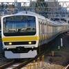 12月30日撮影 中央線 荻窪駅 中央、総武緩行線の列車を撮影 ①