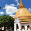 世界一大きな仏塔のある寺はタイのナコンパトムにあり@プラ・パトム・チェディ