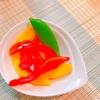余ったパプリカは、ピクルスにするとお弁当の彩りが華やかに!