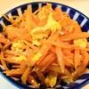【1食21円】人参と卵の塩オリーブオイル炒めの簡単レシピ
