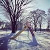 王子の雪遊び&私の雪かき➖雪はこりごり⁈すでに体が痛い!➖