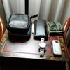 台湾出張 ホテルの部屋の荷物は常に整理整頓
