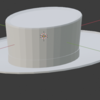 Blender操作メモ3(辺の追加、モディファイアー)_φ(・_・【1059日目】