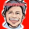 iPadproで描いた 照英さんの似顔絵と似顔絵が出来上がるまで。