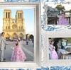 パリ フォトウェディング♪ノートルダム大聖堂♪ハネムーン旅行記2014♪ フランス&イタリア♪