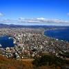 函館山から一望