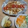 【料理】連休最終日を手軽に豪華に!全部合わせて15分以内にできるチーズトマトドリアセット