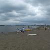 葛西海浜公園で泳ぐ