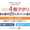 ヤフオク毎日くじ当選(4等)!