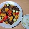 【オーブンで作る焼肉】野菜と牛カルビのオーブン焼きの作り方。