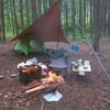 尾白の森キャンプ場でソロキャンプとバーベキュー!トイレ・炊事場・ルール・料金・サイト・食材の詳細