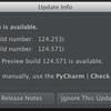 PyCharm 2.7 EAP 124.571