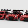 【レゴ自作動画】レクサスLCのレース仕様車を作る