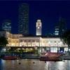 シンガポール街歩き#173(シンガポール川沿いの夜景)