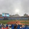 横浜スタジアムで、球団史上初のクライマックスシリーズ進出の瞬間を見るのこと