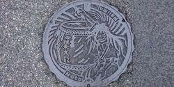 石川県輪島市のマンホール
