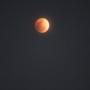 平野区では皆既月食が見えていました。