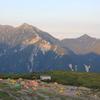 赤牛岳は遠い山~五名山を選んでみる