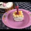 不器用でも作れるベビー用ケーキ