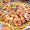 【済州島】1食目はやっぱり黒豚&東門在来市場散策@88돼지/88テジ