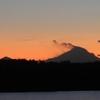 狭山湖から見える富士山