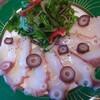 北海大蛸のカルパッチョ