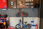 サイクルスタンドをDIY。ガレージは家族みんなのもの!