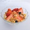 【料理】イチゴを使うだけでお洒落な女子力高めの朝ごはんができた。
