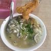 台南の朝はサバヒー粥