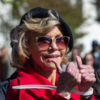 81歳の米女優ジェーン・フォンダが、環境デモを組織し逮捕