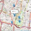 Leaflet + OpenStreetMapで、地図にマーカー&ラベル表示。サンプルソース。