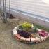 花壇を大きくする途中