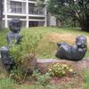 千葉市民ギャラリー・いなげの野外彫刻