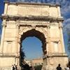 ティトゥスの凱旋門~フォロロマーノ~カンピドーリョ広場