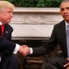 海外のフォトショバトル「お題:トランプとオバマの握手」