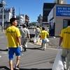 株木建設株式会社の清掃活動を取材しました。(平成28年7月30日)