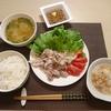大学生の時短料理、レシピ〜冷しゃぶ定食〜