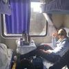 トルファンから電車に乗ってクチャに着いた