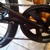 【クロスバイクのシングル化】リンエイ「Wガードギヤクランクセット」