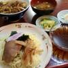 塚越【えびの飯店】牛ヤキニク丼セット ¥740