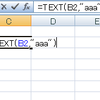 「Excel:曜日を表示する方法(3)TEXT関数を使う