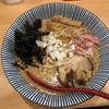 焼きあご塩らー麺たかはしで背脂醤油らー麺(銀座)