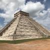 メキシコ チチェン・イッツァ遺跡(1/3) ピラミッド(El Castillo:城)、ククルカンの降臨、神秘的な反響音