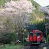 豊後中川駅・北山田駅・旧豊後森機関庫 ~久大本線の桜