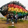 宇野港で瀬戸内国際芸術祭