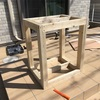 DIY 60㎝水槽台を自作しました!!